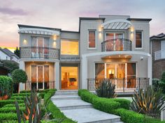 Photo of a concrete house exterior from real Australian home - House Facade photo 726173
