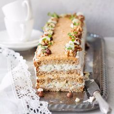 Sandwich Cake, Sandwiches, Sweet Paul, Cheesecakes, I Foods, Bakery, Deserts, Healthy Recipes, Bread