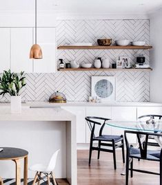 Image result for herringbone kitchen backsplash