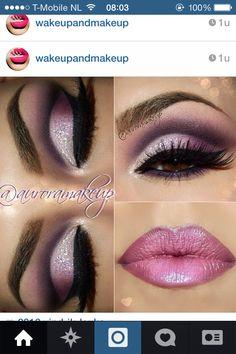 Make up Beauty, purple, classy