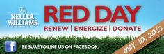 RED Day (Renew, Energize and Donate) is an initiative dedicated to celebrating Keller Williams Realty's year-round commitment to improving our local communities. Real Estate Career, Real Estate Business, Selling Real Estate, Red Day, Keller Williams Realty, Concierge, Dream Job, Minnesota, Orlando
