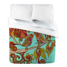 I pinned this Hello Birds Duvet Cover from the Valentina Ramos event at Joss and Main!