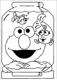 elmo halloween coloring pages | other | kids coloring pages ... - Sesame Street Coloring Pages Elmo