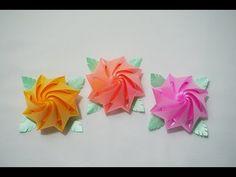 สอนพับเหรียญโปรยทาน ดอกแดฟโฟดิล (Narzissen - Narcissus หรือ Daffodils) - YouTube