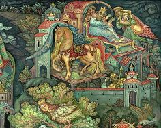 Tale of Ivan the Prince and the Grey Wolf