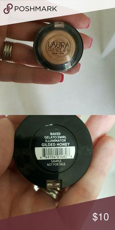 Laura Geller Illuminator. Gilded honey.  Baked Gelato swirl. New. Laura Geller Makeup Luminizer