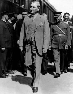 Mustafa Kemal Atatürk was an Ottoman and Turkish army officer, revolutionary statesman, writer, and the first President of Turkey. Republic Of Turkey, The Republic, Medan, Turkish War Of Independence, Cult Of Personality, Turkish Army, The Turk, Fathers Love, Great Leaders