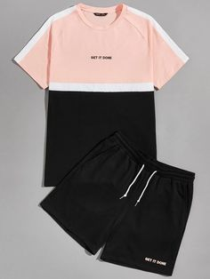 Nombre del producto | Colección Online de Nuevas Tendencias | SHEIN Chile Tomboy Outfits, Teen Fashion Outfits, Casual Outfits, Souliers Nike, Mode Cool, Hype Clothing, Shirt Designs, Clothes, Summer Men