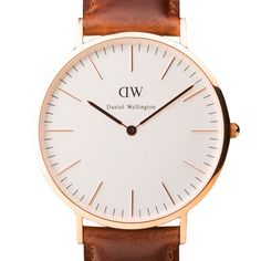 Classic St Andrews (rose gold) watch by Daniel Wellington. Available at Dezeen Watch Store: www.dezeenwatchstore.com