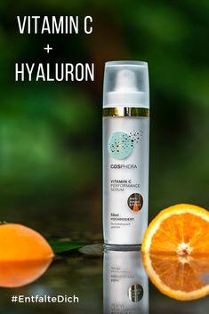 Entdecke die Neuheit: Vitamin C Performance Creme mit Hyaluron! Vitamin A, Vitamin C Serum, Sparkling Ice, Anti Aging, Bottle, Drinks, Creme, Knowledge, Beauty Tutorials