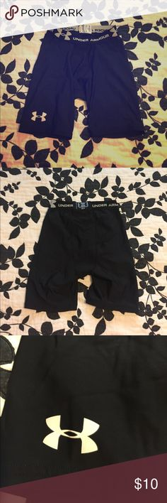 Under Armor shorts Fit to skin under shorts. Great for running and sports. Male or Female Under Armour Shorts Athletic