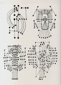 Constellation Drawings by Pablo Picasso, 1924