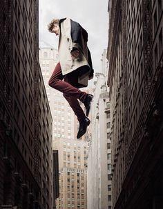 Janis Ancens in Gravity for Schön! Magazine