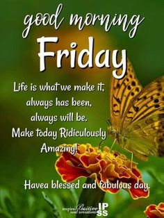10 Friday Quotes And Sayings For A Beautiful Day To kickstart your day and have a great weekend, we have 10 friday quotes, sayings and images to enjoy. Friday Morning Greetings, Friday Morning Quotes, Happy Weekend Quotes, Good Morning Happy Friday, Morning Quotes Images, Good Morning Funny, Its Friday Quotes, Good Morning Good Night, Good Morning Quotes