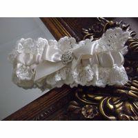 House of Elliot Custom Ivory Bridal Garter