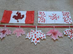 Get the little ones involved with the celebration with these Canada Day Kids Crafts by @Multicraftmum