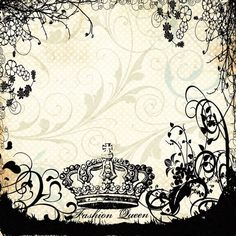 Fashion Queen 12 x 12 Black Flocked Paper ($1.60) ❤ liked on Polyvore featuring backgrounds, scrapbook, fondos, frames, fundos and wallpaper