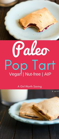 Paleo  Pop Tarts that are nut-free, vegan and paleo autoimmune in addition to being DEE-LISH! You and your kids will gobble them up! via @bejelly
