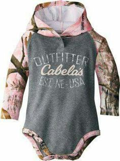 Cabela's Camo Onsie.... Love it!!!!
