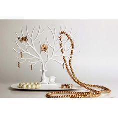 Декоративный органайзер для украшений Deer малый белый / Qualy / Интернет-магазин дизайнерских вещей AdMe.Shop