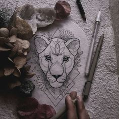 Ideas lioness tattoo