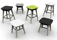Modern Contemporary Outdoor Furniture Pebble Stools