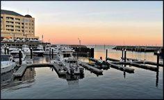 The Marina at Glenelg South Australia at dawn.