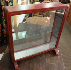 Small Antique Asian Display Case   Come and take a look at our ever changing showroom full of furniture, jewellery, tools and much, much more!  We Buy, Sell, Trade and offer Collateral Loans!