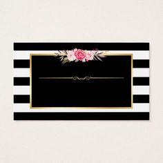 Makeup Artist Beauty Salon Gold Vintage Floral Business Card Salon Gold, Cake Logo Design, Beauty Business Cards, Boutique Logo, Foto Art, Flower Frame, Business Card Design, Vintage Floral, Iphone Wallpaper