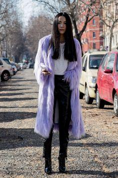 The Best Street Style At Milan Fashion Week Autumn Winter 2017 #jadealyciainc www.jadealycia.com