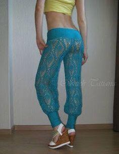 Tina's handicraft : summer trousers