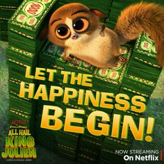 Mort's payday has arrived and he's living the dream! But #MortMoney means #MortProblems. Check in every Wednesday to see what kind of trouble Mort's getting into with his new found wealth and be sure to catch him in the all new season of All Hail King Julien, available on Netflix. #KingJulien