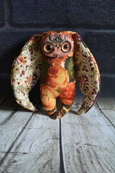 Scary zombie toys by RabbitRU Cute Creatures, Fantasy Creatures, Beautiful Creatures, Clay Monsters, Little Monsters, Creepy Stuffed Animals, Worry Dolls, Scary Art, Gothic Dolls
