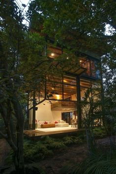 Treehouse architecture in Mexico | Alejandro Sanchez Garcia Arquitectos