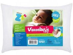 Travesseiro Infantil 30x40cm - Fibrasca Viscoelastic Baby com as melhores…