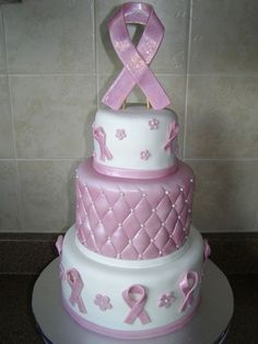 Breast cancer cake cake-stuff