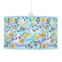 Kids animals Lamp