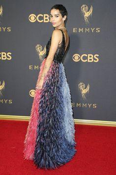 Zoe Kravitz in Dior Couture -Emmys 2017