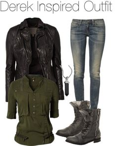 teen wolf wardrobe | teen wolf #fall #fashion | Fashion loves!>>>> never seen teen wolf but its a cute outfit