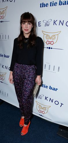 707bb0c3d72c Lindsay Sloane at the Tie the Knot launch party.
