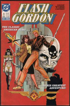 Flash Gordon Comic Book #1 (1988)