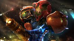 Samus Tribute | Illustration Art | The Design Inspiration