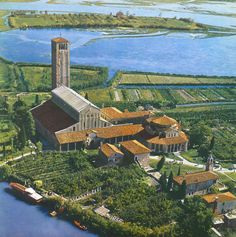The island of Torcello, off the coast of Venice- site of Venice's original settlement and a peaceful place to escape the crowds
