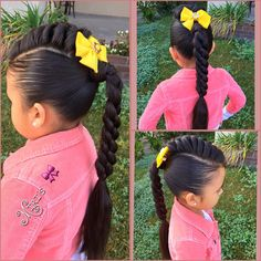 Mohawk for little girls