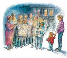 """Alfie's Christmas"" by Shirley Hughes"