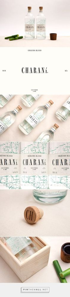 Charaní charade blanco by Sociedad Anónima. Source: Daily Package Design Inspiration. Pin curated by #SFields99 #packaging #design #inspiration #ideas #branding #product #alcoholic #beverages #sociedadanonima