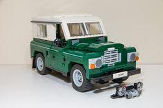 A proposal for a LEGO model of the legendary Land Rover Series III by LEGO Ideas member Dadandlad. Scrap Mechanics, Lego Fire, Lego Worlds, Lego Group, Lego Models, Lego Projects, Lego Moc, Lego Instructions, Lego Technic