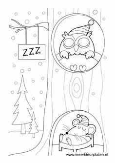 school winter on knutselen snowman