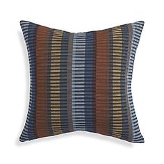 "Chika Blue 20"" Pillow"