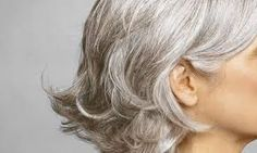I've decided to accept the fact that my hair is becoming gray but is there is a natural way to delay the process.. ;) So no dying my hair, at least not for now.